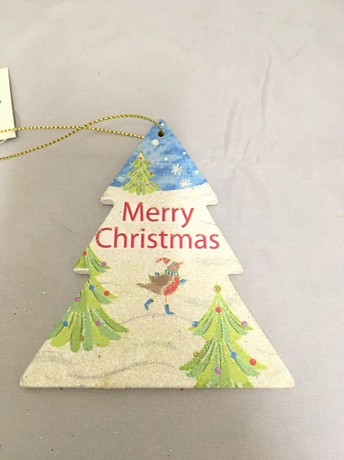 Christmas scene tree tree ornament