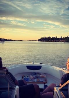Sunset Boat Tour Palm Coast