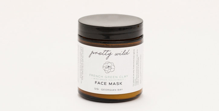 PRETTY WILD FRENCH GREEN CLAY MASK
