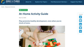 Activity Ideas for Infants and Toddlers (zerotothree.org)