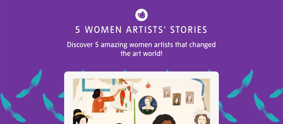5 Women Artists' Stories (tate.org.uk)
