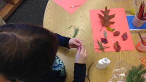 Nature Brainstorm, Treasure Hunt & Collage: Discuss, Embark, Create!