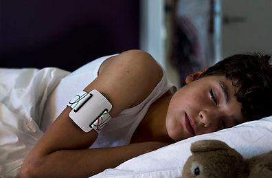 Seizure detection for nocturnal epilepsy