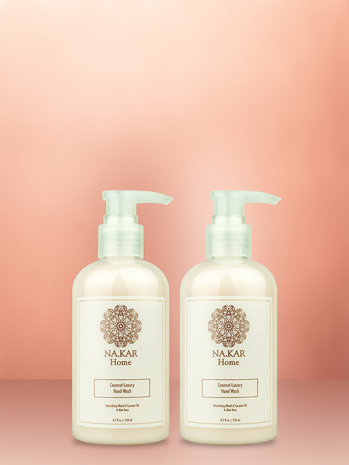 ROSE GOLD HOME COCONUT LUXURY HAND WASH 2 PIECE SET