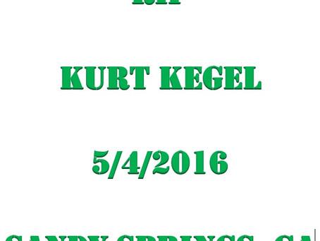 RIP Kurt Kegel...