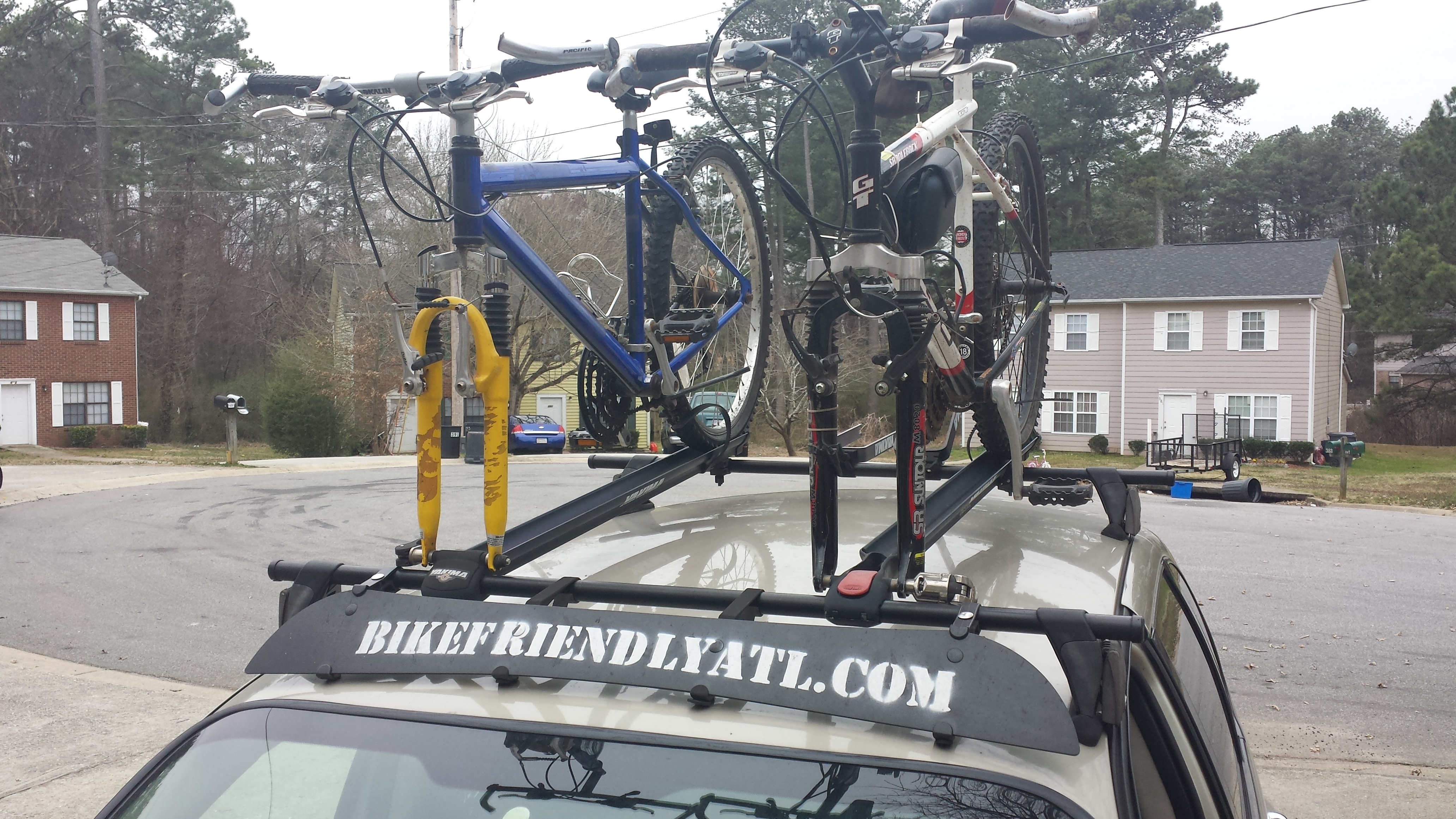 Picked up 2 donated bikes