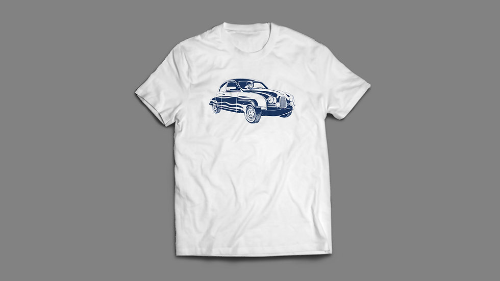 Saab 93F Racer T-Shirt - white