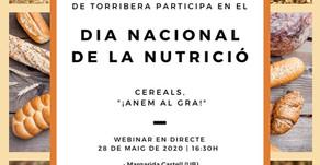 Webinar Día Nacional de la Nutrición: Cereales, ¡Vayamos al grano!