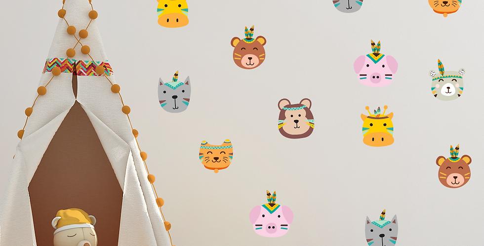 Stickers Zoovivo