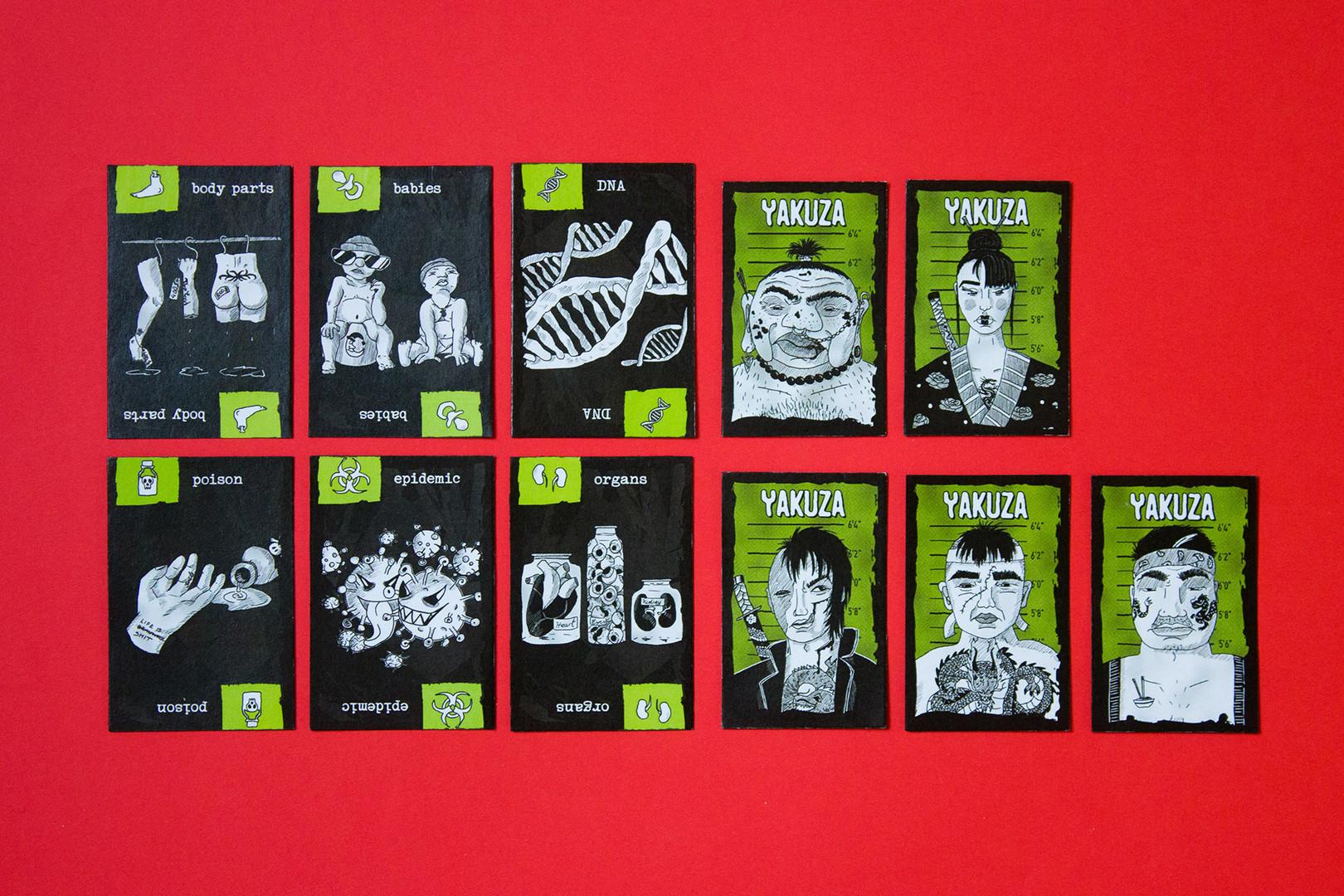 Card Cartel – Yakuza