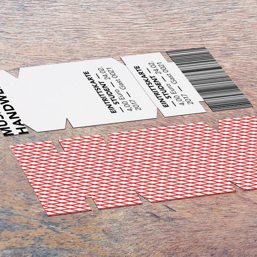 MDH – Eintrittskarte