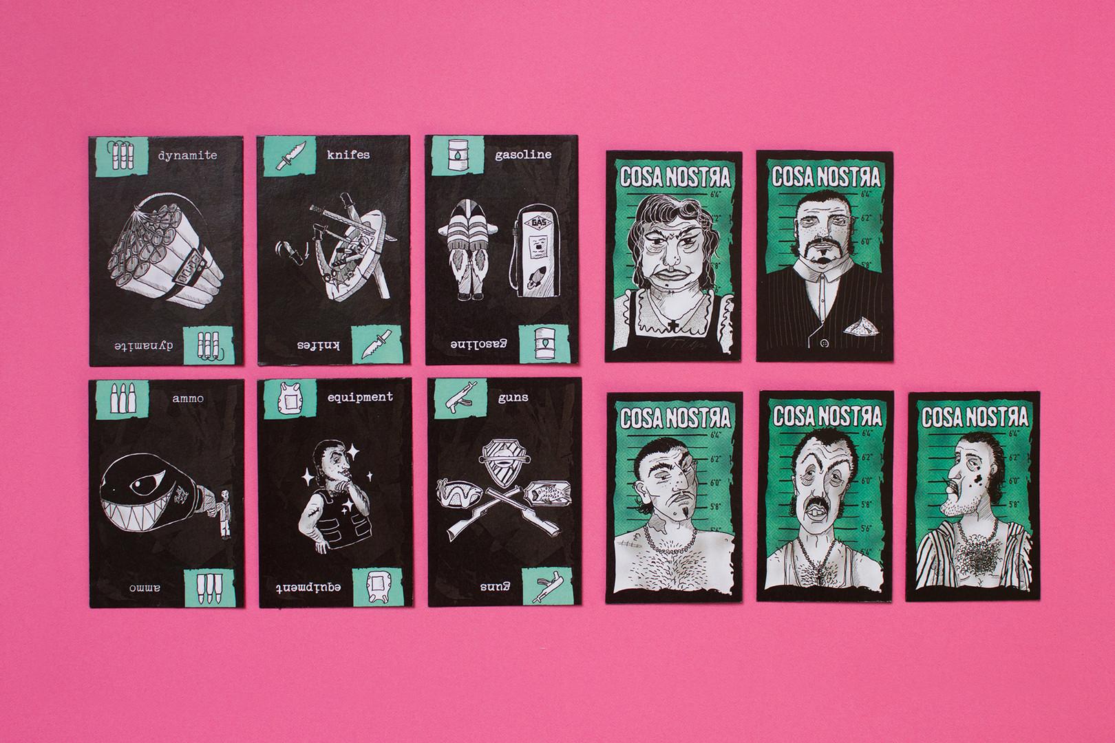 Card Cartel – Cosa Nostra