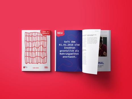 bug to the future – Cover & Innenseiten