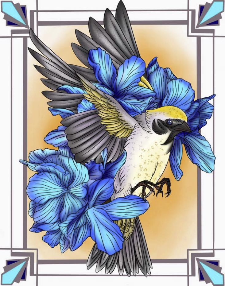 Gold Winged Warbler
