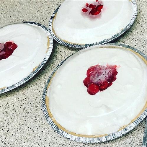 No Bake Plain White Cheesecake