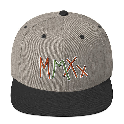 Exclusive MMXX Embroidered Snapback Hat