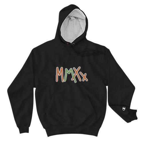 Exclusive MMXX Champion Hoodie with Hustler Definition on back