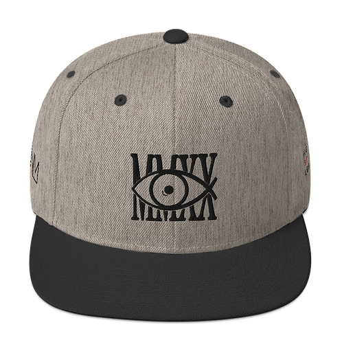 Exclusive MMXX Vision Embroidered Snapback Hat