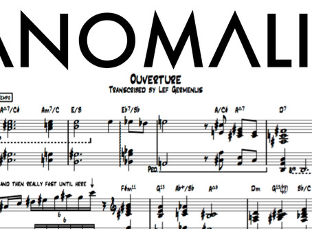 New Transcription // Anomalie - Ouverture