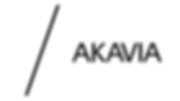 4. Akavia centrerad, svart logotyp, vit