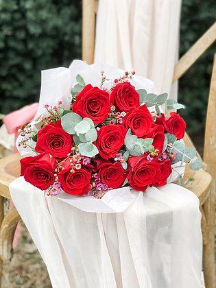 One Dozen Roses
