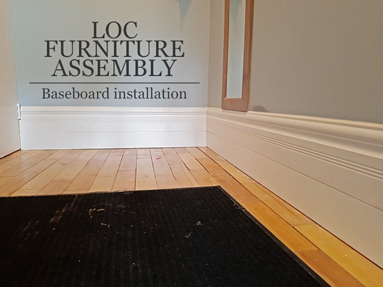 Baseboard installation
