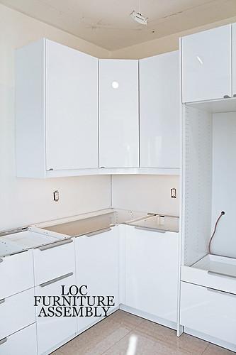 IKEA Gloss Kitchen