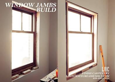 Window Jamb Build