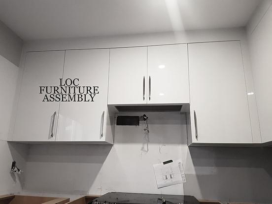 Loc Furniture Assembly - Custom Kitchen
