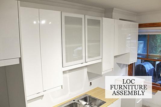 Upper cabinets details