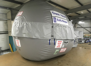 A Successful Test Of A Rolls-Royce Trent 7000 Engine Bag