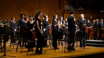 Audire Orchestra at MIT's Kresge Auditorium