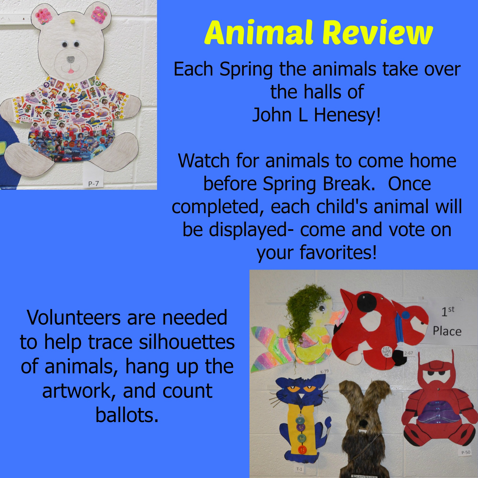 Animal Review poster