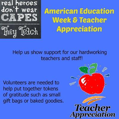 Teacher appreciation poster
