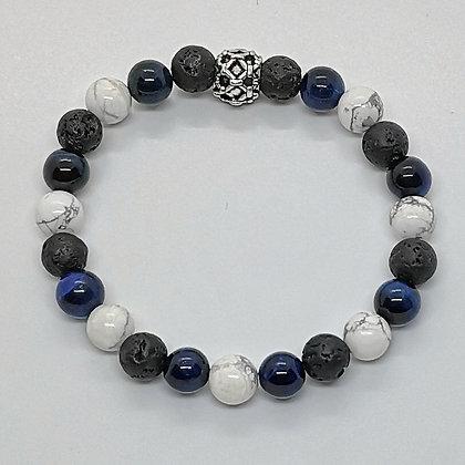 Bracelet perles - Verseau