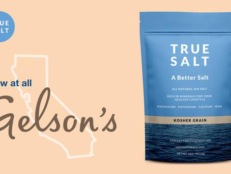 True Salt Brings its All-Natural Salt to Gelson's