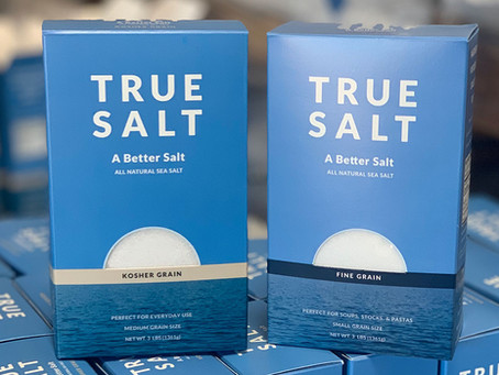 True Salt Company Introduces Environmentally Friendly Packaging