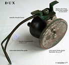 1-  DUX Standard side cast reel made in
