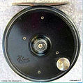 3- EBRO vintage Fly reel ventilated Drum