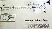 09- Seascape Fishing reel Gear Housing Schematics