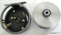 4- Silver King vintage Fly reel made for