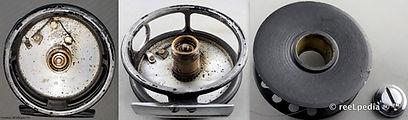 1-Dawson vintage Fly reel D 15  internal