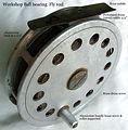1-Vintage Ball bearing Fly fishing reel