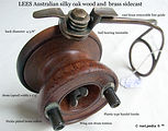 1- Lees wood & metal side cast vintage f