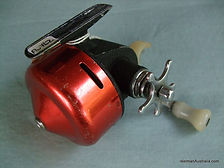 Auto-Flite spinning reel Red anodized modle -c 1958