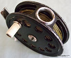 1- EBRO ventilated Drum vintage Fly reel