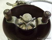 ALVEY wedge lock Flat crank