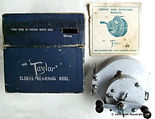 1- TAYLOR vintage fishing reel with Box