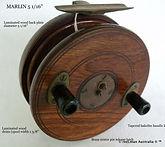 MARLIN 5 1_16 '' vintage fishing reel sp