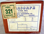03-  Seascape 321 model vintage fishing